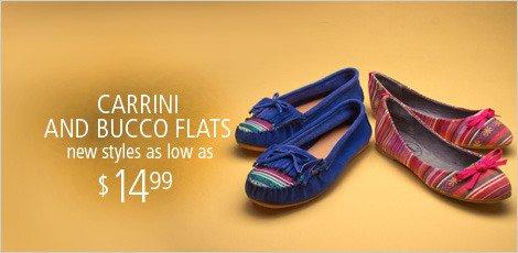 Carrini & Bucco Flats