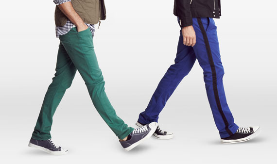 On Trend -  Men's Colorful Jeans  -- Visit Event