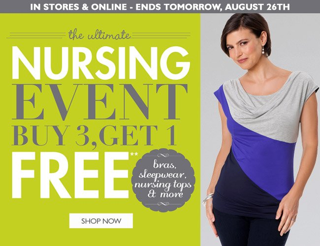 Nursing Event - Ends Tomorrow