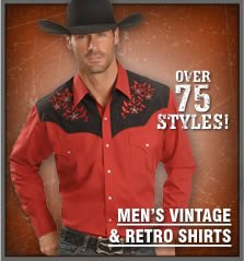 Men's Vintage & Retro Shirts
