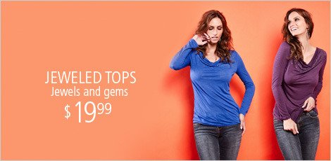Jeweled Tops & More