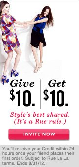 Give $10. Get $10. Invite Now.