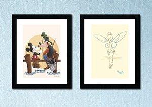 Disney Vintage Art
