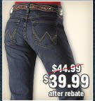 Women's Wrangler Ultimate Riding Jeans
