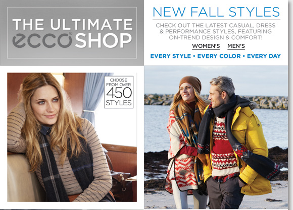 Shop the new ECCO casual, dress & performance styles for the ultimate on-trend designs and comfort. Over 450+ new styles have arrived from your ultimate ECCO shop! Plus, shop the new Dansko arrivals and save $25 on your next purchase during our Dansko Event! Find the best selection now at The Walking Company.