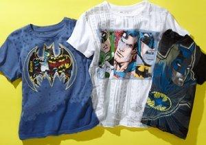 Kid's Republic:  Superhero T-Shirts