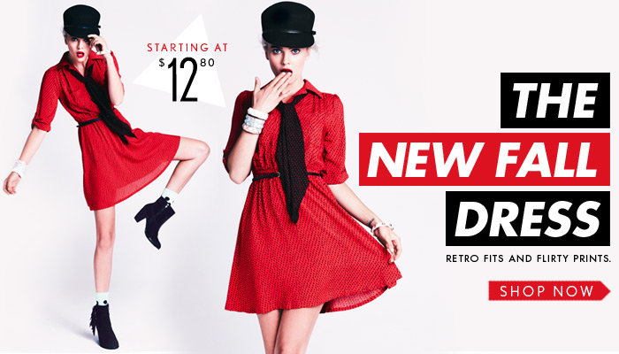 The New Fall Dress - Starting at $12.80 - Shop Now