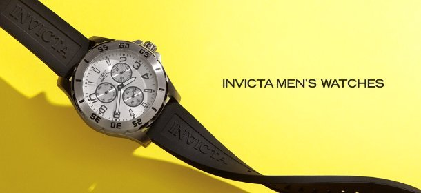 INVICTA MEN'S WATCHES, Event Ends August 29, 9:00 AM PT >