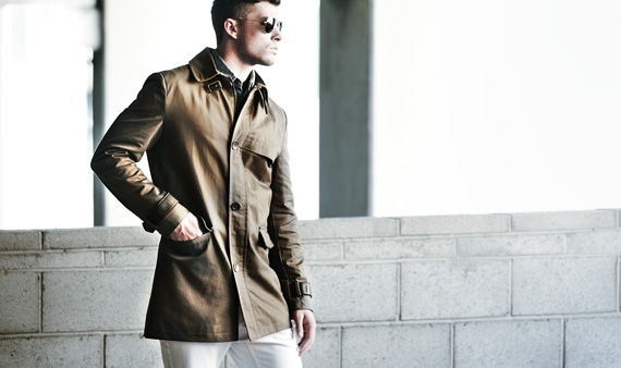 Kenneth Cole Men's Outerwear  -- Visit Event
