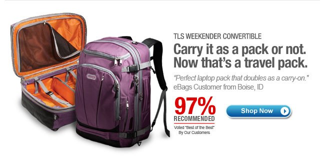 Shop TLS Weekender Convertible