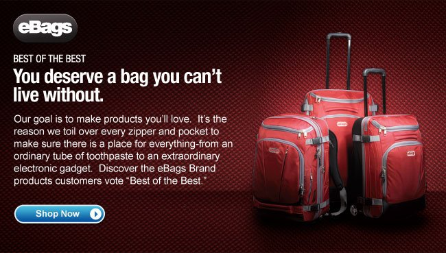 "The eBags Brand ""Best of the Best"""