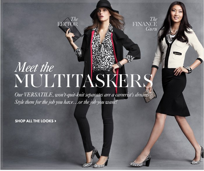 Meet The Multitaskers