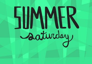 Shop Summer Saturday Sale