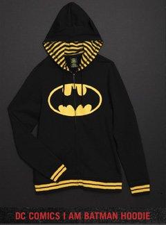 DC COMICS I AM BATMAN HOODIE