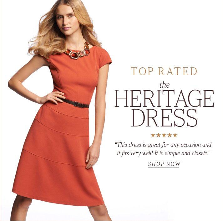 Click here to shop Heritage Dress