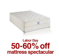 Labor Day 50-60% off mattress spectacular