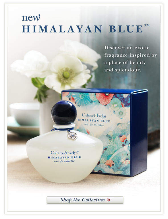 New Himalayan Blue(TM). Shop the Collection.
