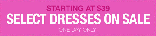 Select Dresses On Sale