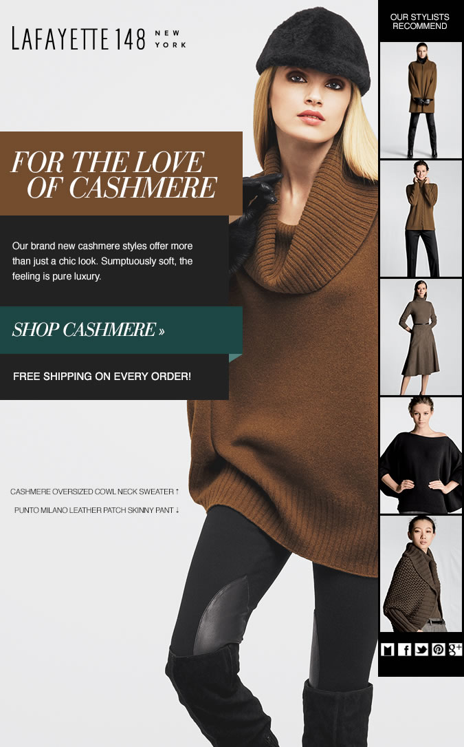 For the Love of Cashmere