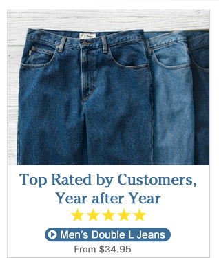 Top Rated by Customers, Year after Year. Men's Double L Jeans, from $34.95.