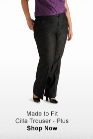 MADE TO FIT CILLA TROUSER - PLUS >