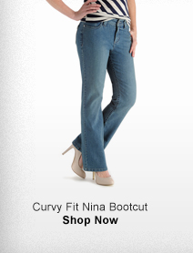 CURVY FIT NINA BOOTCUT >