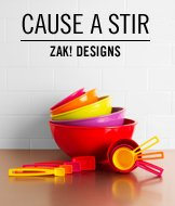 Cause A Stir. ZAK! Designs.