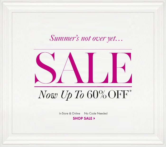 Summer's Not Over Yet...