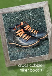 crocs cobbler hiker boot