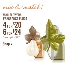 Wallflowers 4 for $20 or 6 for $24!