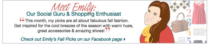 Shop Emily's Picks!