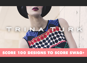 Trina Turk - Score 100 designs to score swag