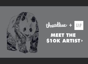 threadless + Gap - Meet the $10k artist
