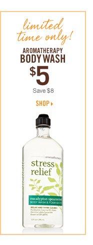 Aromatherapy Body Wash - $5