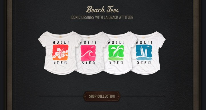 Beach Tees | SHOP COLLECTION