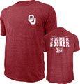 Oklahoma Sooners Cardinal Hometown Hero Tri-Blend T-Shirt