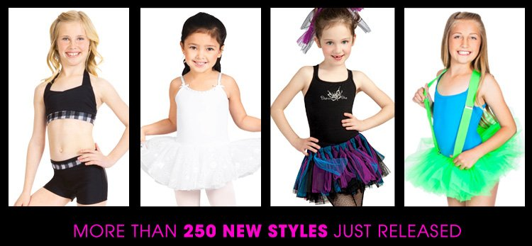 More than 250 New Styles just released!