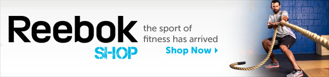 Reebok Shop - the sport of fitness has arrived - Shop Now