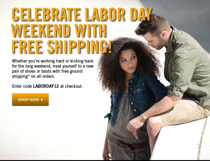 Celebrate Labor Day Weekend with Free Shipping!