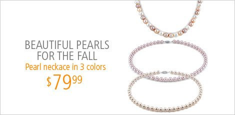 Beautiful Pearls for the Fall