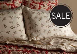 UP TO 90% OFF BEDDING
