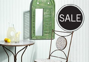 UP TO 80% OFF PATIO FURNITURE & DECOR