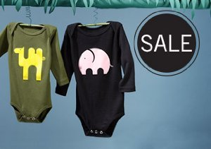 UP TO 80% OFF BABY & MATERNITY