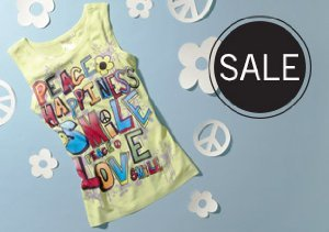 UP TO 75% OFF APPAREL FOR TWEEN GIRLS