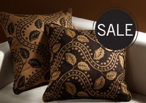 UP TO 80% OFF DECORATIVE PILLOWS