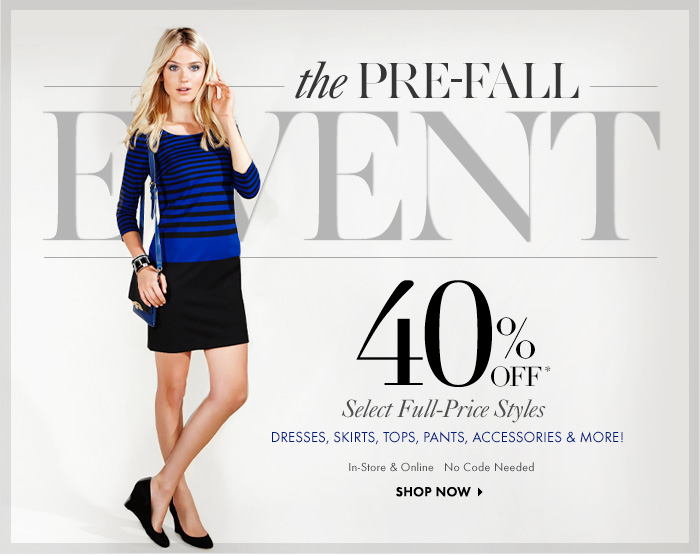 STHE PRE-FALL EVENT