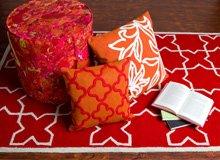Liora Manne Pillows, Rugs, & Ottomans