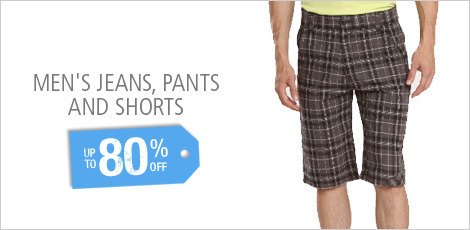 Men's Jeans, Pants, and Shorts