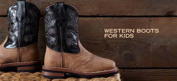WESTERN BOOTS FOR KIDS, Event Ends September 4, 9:00 AM PT >