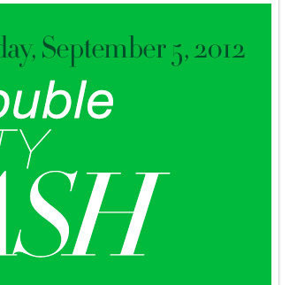 Earn DOUBLE City Cash IN STORES, now through Wednesday, September 5, 2012